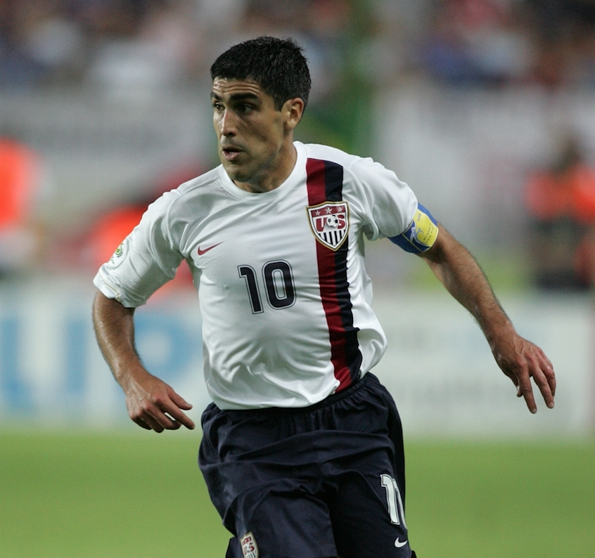 Reyna served as captain of the US Men's National Team