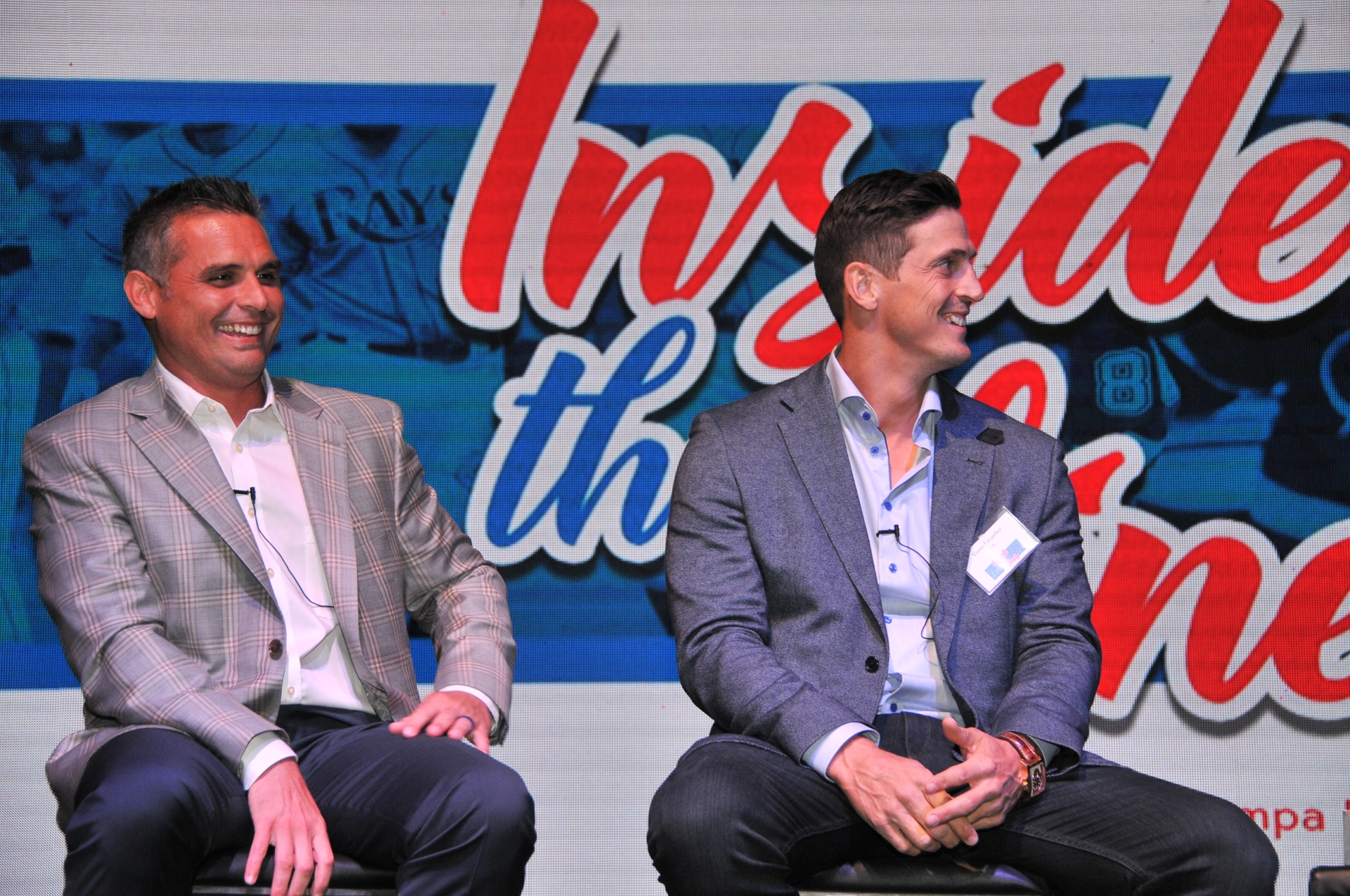 Panel discussion between guests, Kevin Cash and Vinny Lecavalier