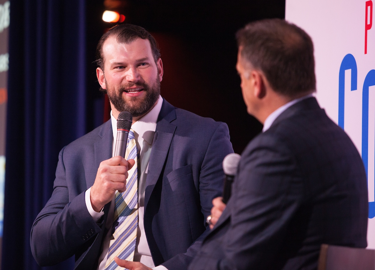 10-time NFL Pro Bowl selection and keynote, Joe Thomas