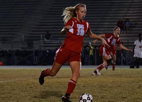 I am currently attending Polk state college on the Women's soccer team! We are currently in-season, undefeated. While on the team I still use all of PCA's Values and continue to truly be a triple impact competitor on and off the pitch. I will be graduating in 2020 with my AA in liberal arts, then pursue a bachelor's degree in sports and exercise science at a 4-year university!